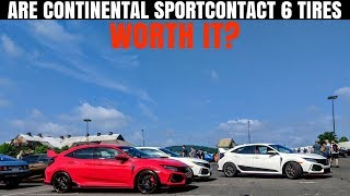 Honda Civic Type R Factory Tires SUCK   5 things to KNOW about Continental SportContact 6 tires
