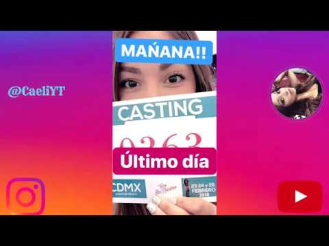 Caeli Castings team sin nombre 25 feb 2018