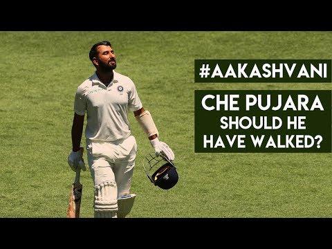Should PUJARA have walked? #AakashVani Mp3