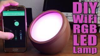 DIY WiFi RGB LED Lamp || ESP8266 & Blynk