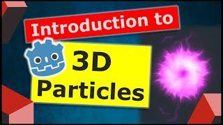 Godot 3D Particles Introduction | Arcane Bolt | Godot Particles Series #1