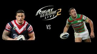 Rugby League Live 2 - Roosters vs Rabbitohs