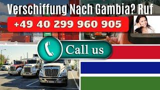 Verschiffung Nach Gambia - Container, Auto & LKW Nach Gambia In Afrika Verschiffen | Hamburg Germany