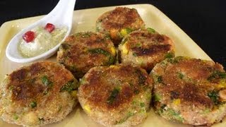 Vegetable Cutlets - Indian Appetizer Recipe