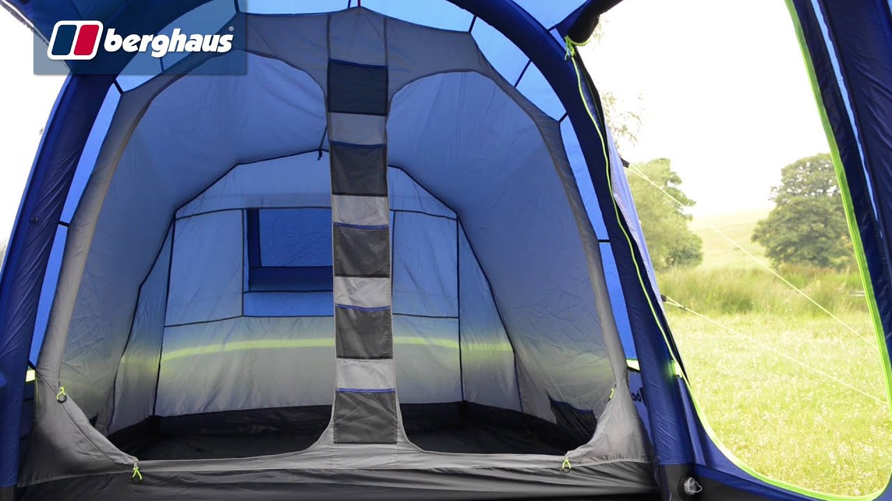 b930ba09c8f Berghaus Air 6 Man Family Tent - YouTube