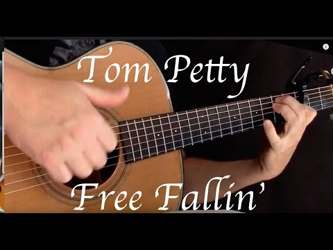 Tom Petty - Free Fallin' - Fingerstyle Guitar