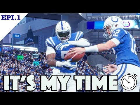 Madden 18 Player Franchise | The Creation of a Speed RB | Its My Time Epi 1