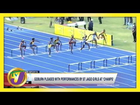 Coach Goburn Pleased with Performances by St. Jago Girls at Champs 2021 | TVJ News