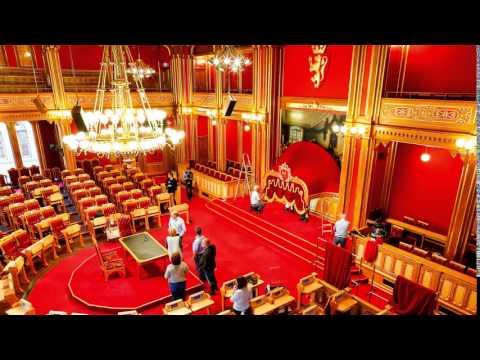 Stortinget klargjøres til åpning