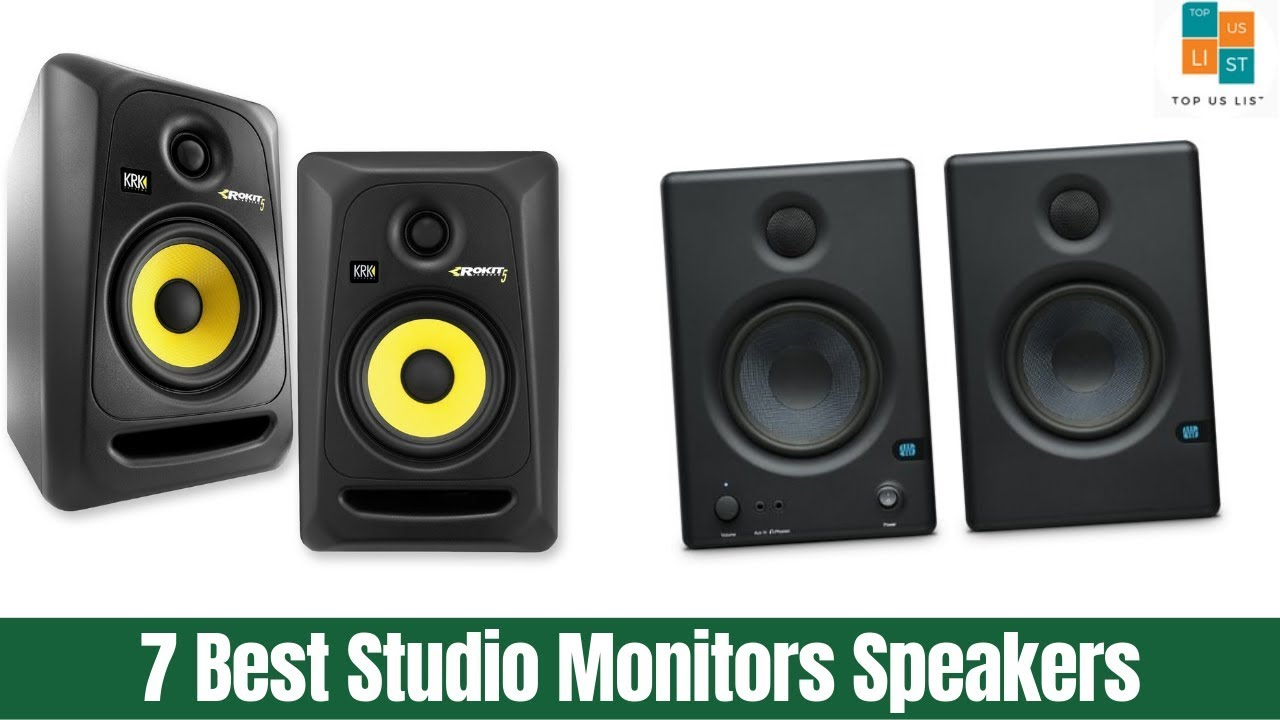 Best Studio Monitors 2020.The 7 Best Studio Monitors Speakers Of 2020 Best Value