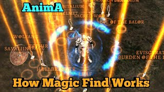 Magic Find and Farming Legendaries - AnimA ARPG