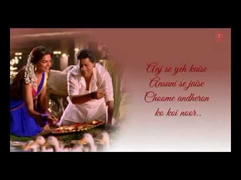 Titli Chennai Express Song With Lyrics  Shahrukh Khan, Deepika Padukone pronta embutida