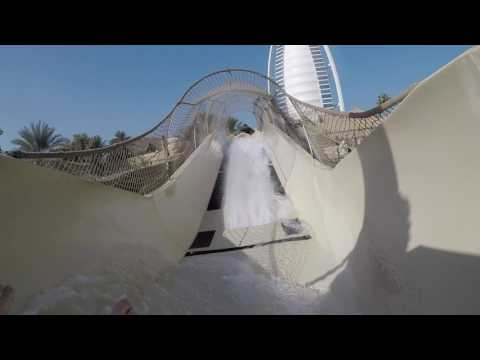 Wild Wadi - Highlight Video of my favorite slides