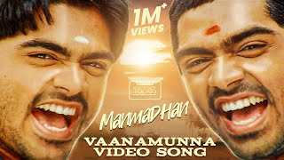 Manmadhan |  Vaanamunna  Video Song | Silambarasan, Jyotika | Yuvan Shankar Raja | #ThinkTapes