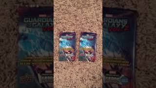 Marvel guardians of the galaxy Upper Deck trading cards