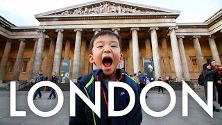TAKING 9 KIDS INTO LONDON ON THE TUBE : Traveling Family of 11