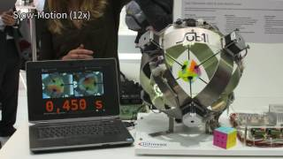 Fastest robot to solve a Rubik's cube: Sub1 Reloaded breaks Guinness world record