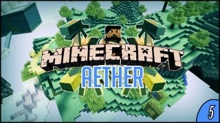 Niebiański Aether #5 - Drużyna pierścienia powraca ! ft. Skkf & Aspyr & MinecraftPolska