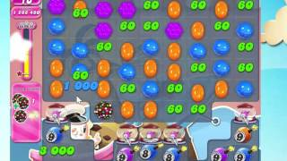 Candy Crush Saga Level 1549 with 5 moves left,  NO BOOSTERS!