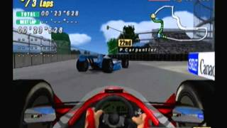 F1 Flag to Flag racing Dreamcast gameplay