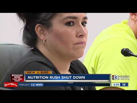 Nutrition Rush store permanently shut down by Health District
