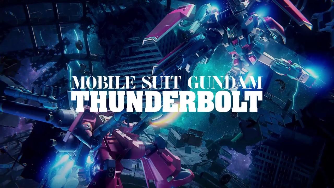 Gundam Versus: MS Gundam Thunderbolt | Character Trailer - YouTube
