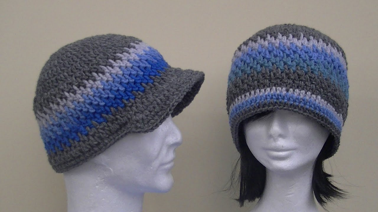 Brick stitch hat crochet tutorial youtube bankloansurffo Gallery