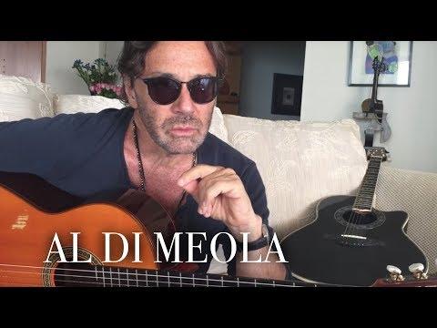 Al Di Meola about the history of Mediterranean Sundance