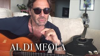 Al Di Meola about the history of Mediterranean Sundance