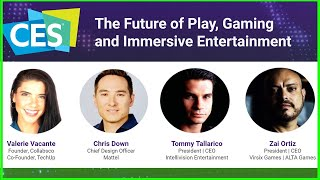 Valerie Vacante presents | The Future of Play, Gaming & Immersive Entertainment