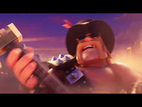 Rock On Party King Video by COC In His Anniversary (Clash of Clans 8th Anniversary)