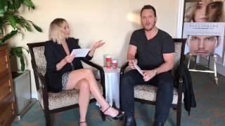 Jennifer Lawrence and Chris Pratt answer questions about Passengers