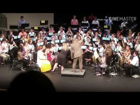 Aaron's Spring Concert (Beech Springs Intermediate) (I Don't Own The Rights To This Music)