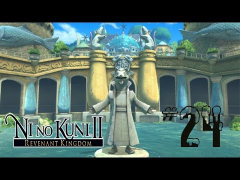 Lets Play: Ni no Kuni II: Revenant Kingdom Part 24 Old Ding Dong Dell Well Is Back With Torch Puzzle