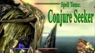 Skyrim Dragonborn DLC: Spell Tome- Conjure Seeker