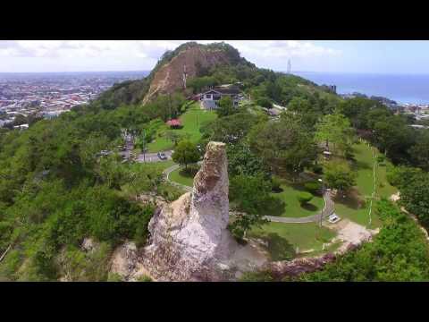San Fernando Hill Trinidad Scenery