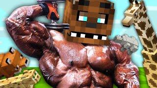 СИМУЛЯТОР СИНТОЛЬЩИКА! Качайся Подымая Вес, Зарабатывай Деньги, Покупай Питомцы - Minecraft Игры