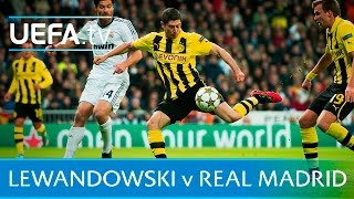 Lewandowski's 5 goals against Real Madrid