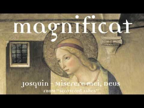 Josquin: Miserere mei, Deus (Part 1) performed by Magnificat