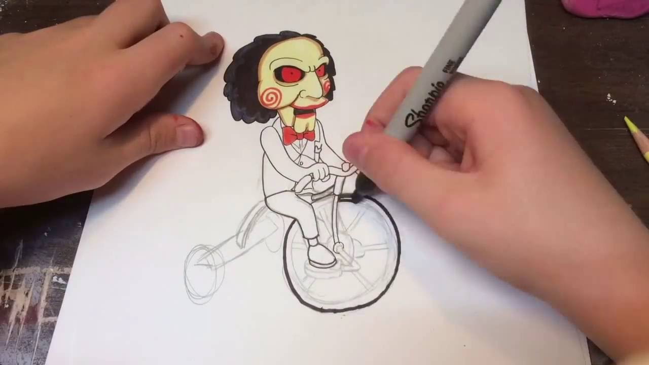 how to draw little bill