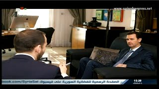 Syria News 26/1/2015, President al-Assad interview to the American magazine Foreign Affairs