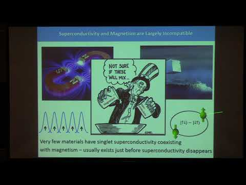 Colloquium, February 8th, 2018 -- A New Spin on Superconductivity