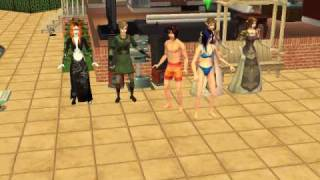 really random dancing done by my sims