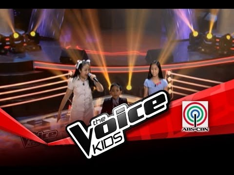 """The Voice Kids Philippines Battles  """"Anak ng Pasig"""" by Angelique, Rein, and Jimboy"""