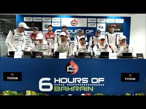 WEC - 2015 6 Hours of Bahrain - Post Race Press Conference