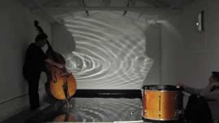 music and light symbiosis - experiment 1 - raw footage, 23.04.13