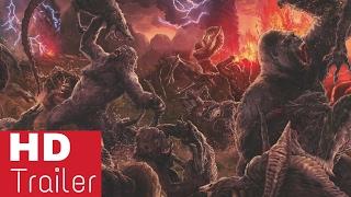Skull Island  Birth of Kong Comic Trailer (2017) HD