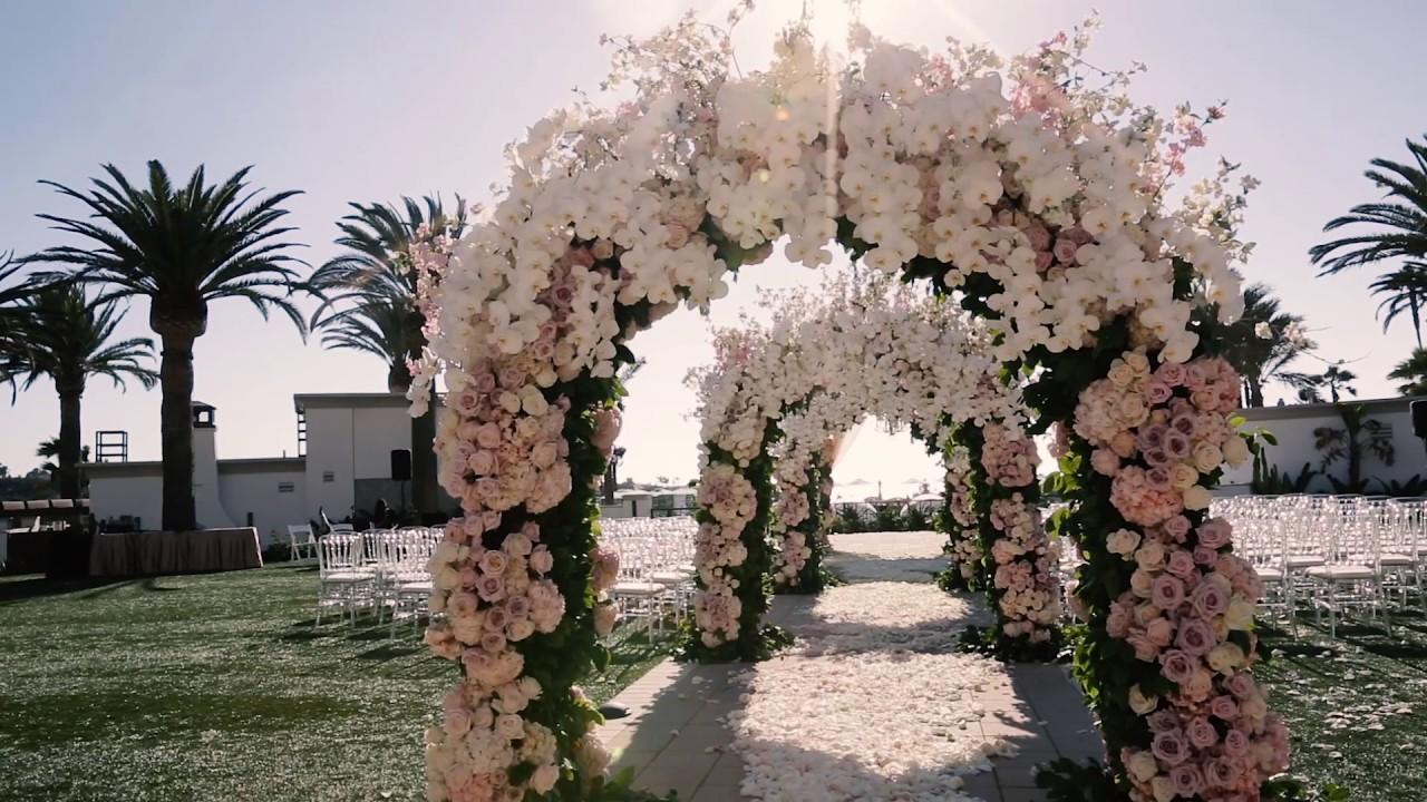 Monarch Beach Resort Wedding Details Highlight Ieva Amir