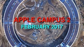 Apple Campus 2: February 2017 Construction Update
