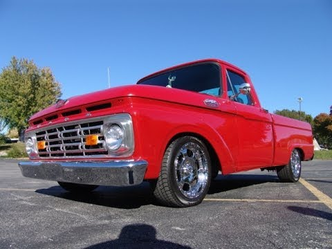 Rare 1964 Ford F100 Short Bed Pickup Truck The Only